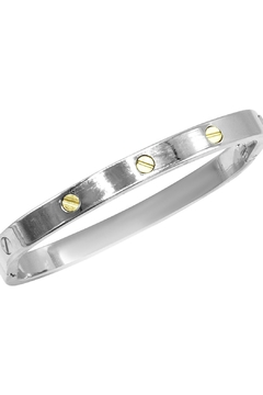 Made It! Silver Box Bracelet - Product List Image