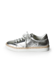 Lady Doc Silver Brogue/sneaker - Product Mini Image