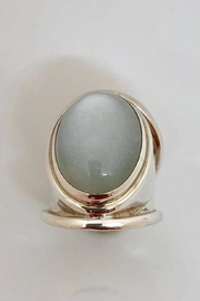 Barry Brinker Fine Jewelry Silver Cabochon Moonstone - Product Mini Image