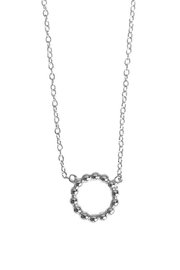 Wild Lilies Jewelry  Silver Circle Necklace - Product Mini Image