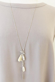 Caracol Silver collier necklacd - Product Mini Image