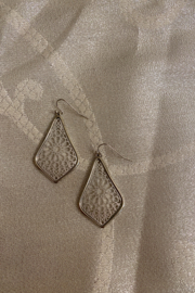 tesoro  Silver Dangle Earrings - Product Mini Image
