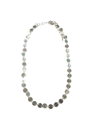 Lets Accessorize Silver Disc Choker - Product Mini Image