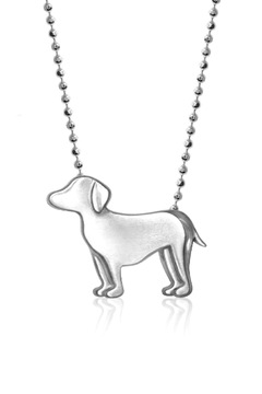 Alex Woo Silver Dog Necklace - Product List Image