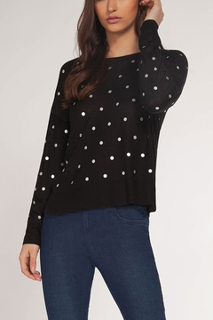 Dex Silver Dot Sweater - Product List Image