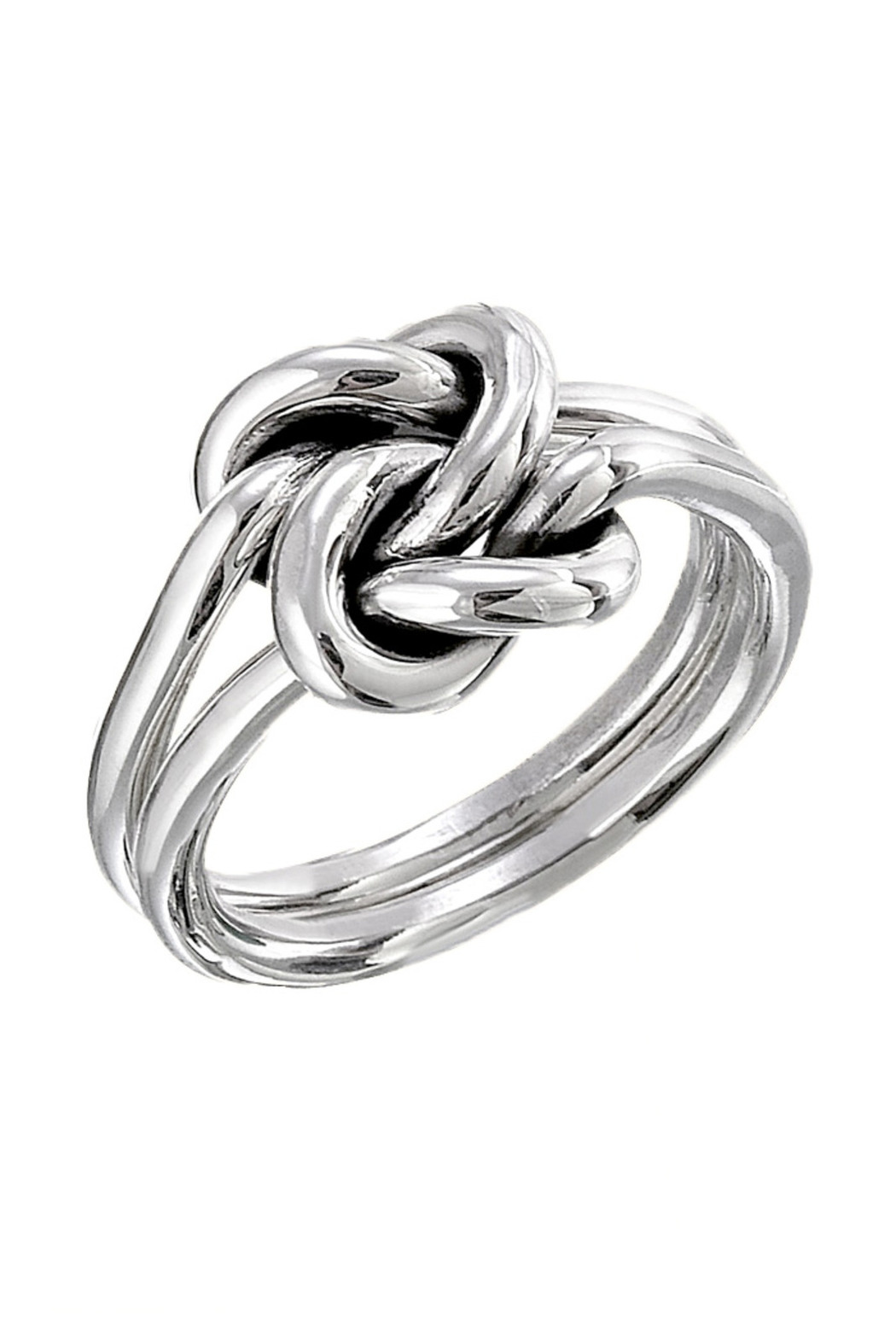 Salvador Jouhayerk Silver Double Knot Ring - Main Image