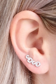 Riah Fashion Silver Ear Crawler - Product Mini Image