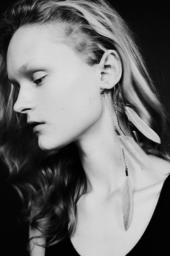Anni Jürgenson Silver Ear Cuff - Alternate List Image