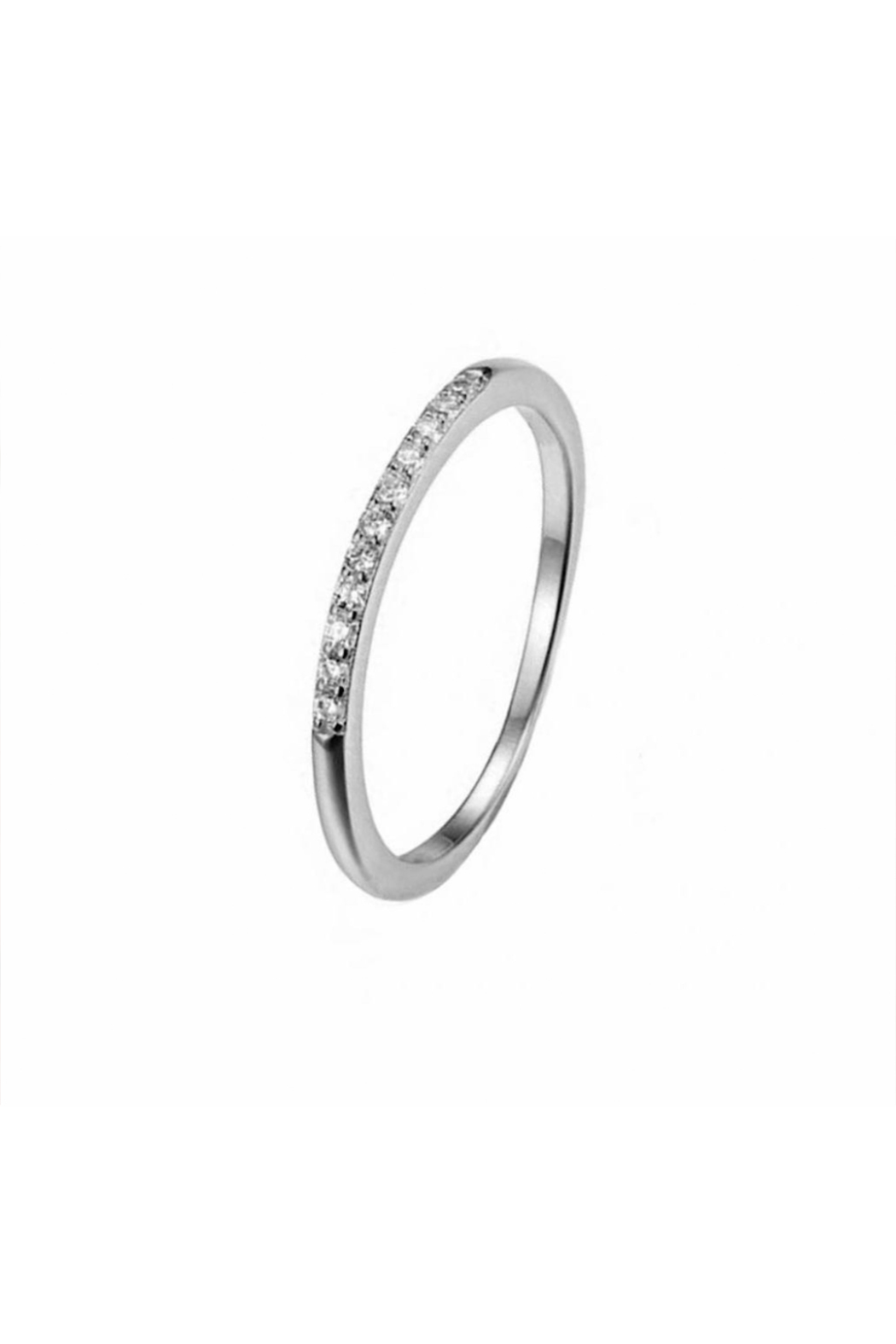 Something Silver Silver Eternity Ring - Main Image