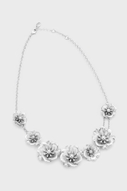 Wild Lilies Jewelry  Silver Floral Necklace - Product Mini Image