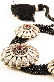 aaRaa Silver Flowers Necklace - Product Mini Image
