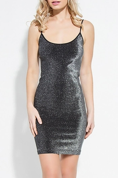 Shoptiques Product: Silver Glitter Bodycon