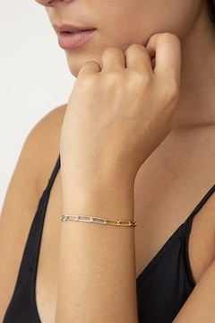 Chan Luu Silver Gold Bracelet - Product List Image