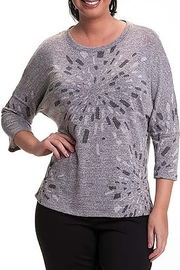 Bali Corp. Silver Grey Crew Neck Sweater - Product Mini Image