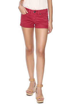Silver Jeans Co. Red Toni Shorts - Product List Image