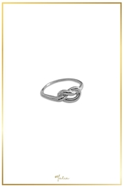 Malia Jewelry Silver Knot Ring - Product Mini Image