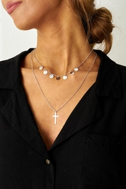 frontrow Silver Layered Necklace - Product Mini Image