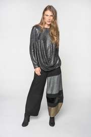 Alembika Silver Metallic Top - Product Mini Image