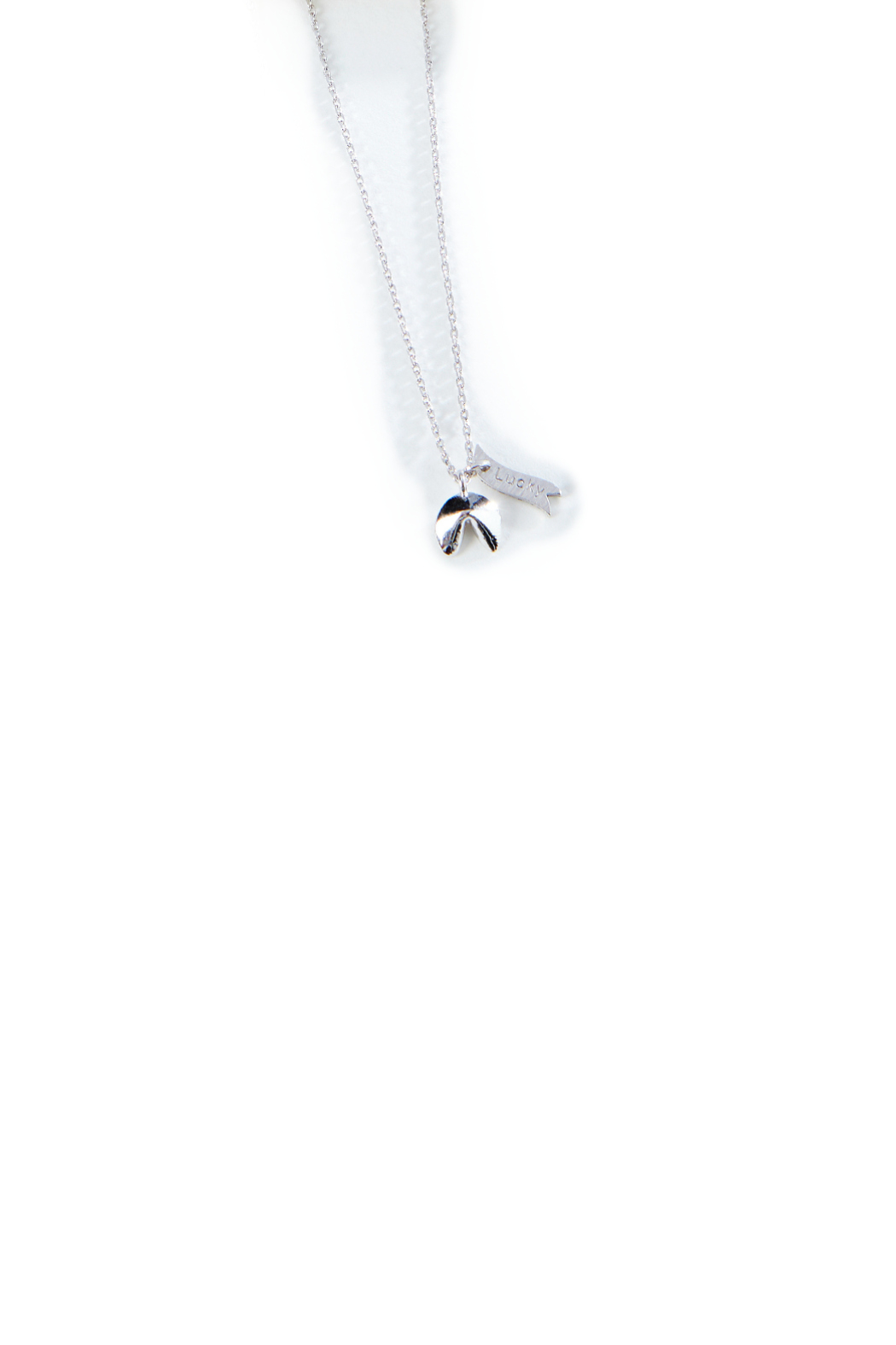 Gift Craft Silver Minimalist Necklace - Main Image