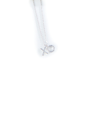 Gift Craft Silver Minimalist Necklace - Front cropped