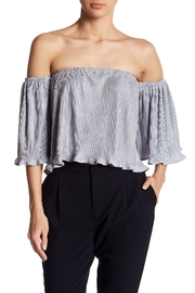 OnTwelfth Silver Off-Shoulder - Product Mini Image