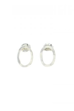 Lotus Jewelry Studio Silver-Oval Bauble Earrings - Product List Image