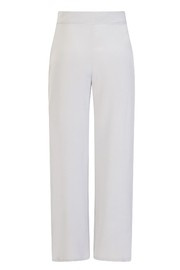 Sophie Cameron Davies Silver Palazzo Trouser - Side cropped