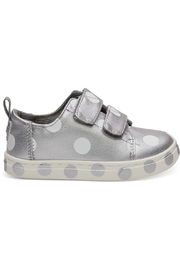 TOMS Silver Pearlized Dots Tiny Lenny Sneakers - Product Mini Image