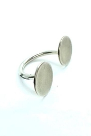 Lotus Jewelry Studio Silver Pebble Ring - Product Mini Image
