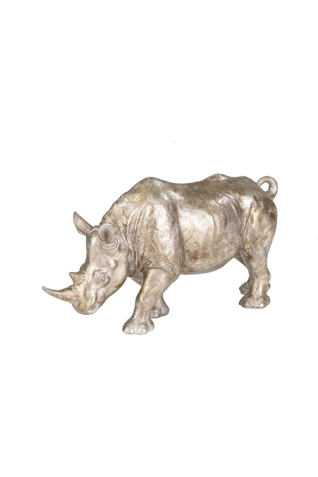 Sagebrook Home Silver Resin Rhibno - Main Image