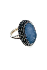 Ananda Chicago  Silver Ring - Product Mini Image
