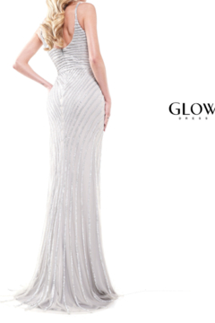 glow by colors Silver Sparkle Gown - Alternate List Image