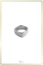 Malia Jewelry Silver Square Ring - Product Mini Image