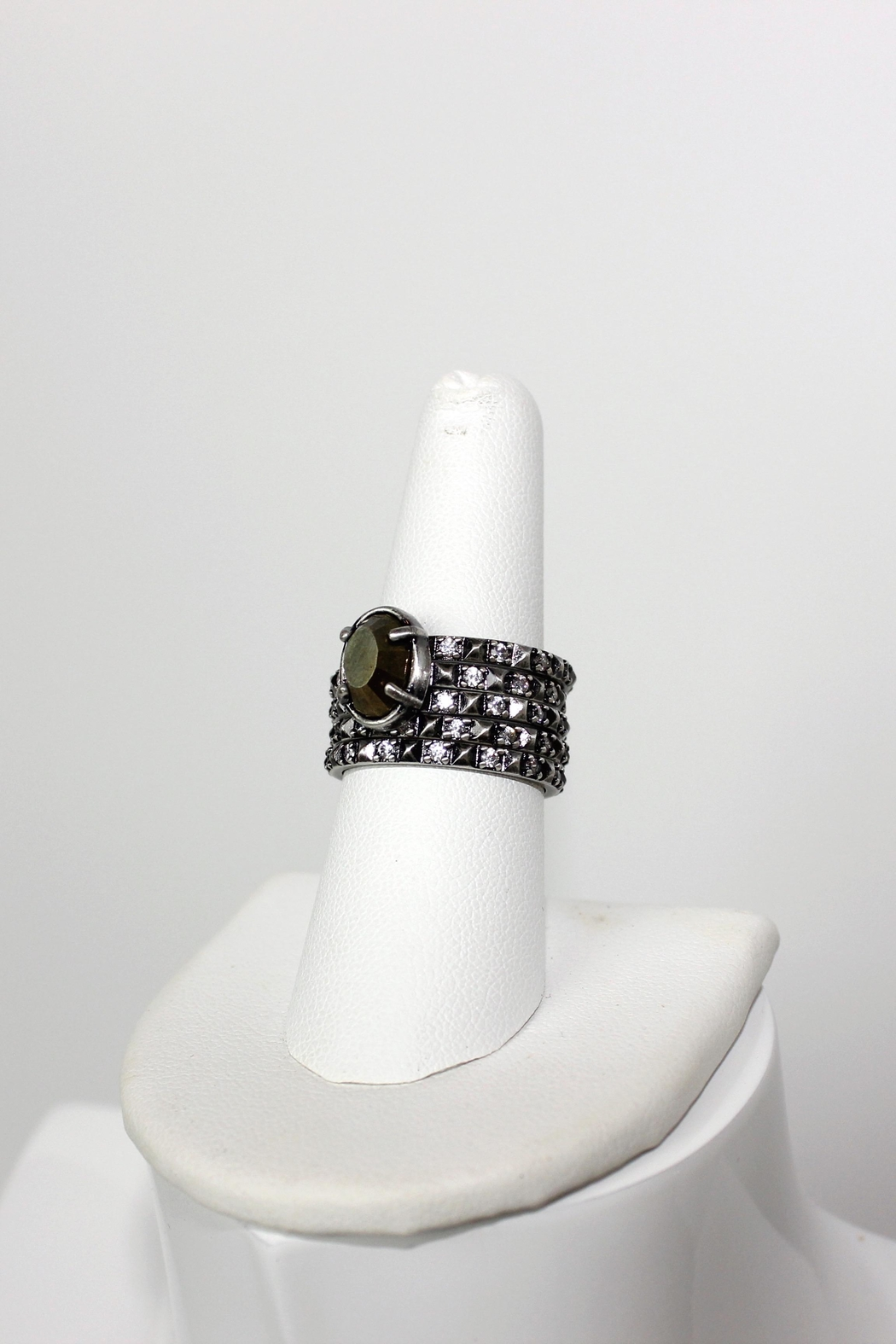 Kendra Scott Silver Stackable Rings - Side Cropped Image