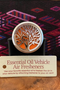 Benji Silver Tree of Life Essential Oil Vehicle Air Freshener - Product List Image