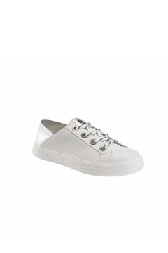 Earth Silver Trim Sneaker - Product List Image