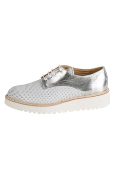 Shoptiques Product: Silver & White Brogue