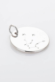Amber  Silver Zodiac Constellation Necklace - Product Mini Image