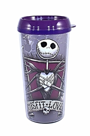 Silver Buffalo Jack Travel Mug - Front cropped