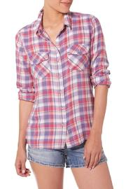 Silver Jeans Co. Summer Plaid Flannel - Product Mini Image