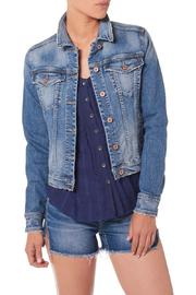 Silver Jeans Co. Vintage Style Denim Jacket - Product Mini Image