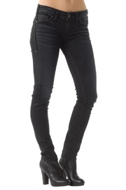 Silver Jeans Co. Aiko Dark-Wash Skinny - Front cropped