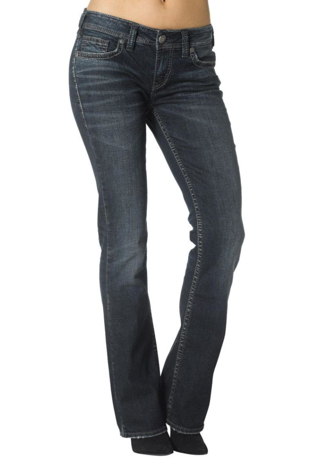 Silver Jeans Co. Aiko Defined-Curve Bootcut - Main Image