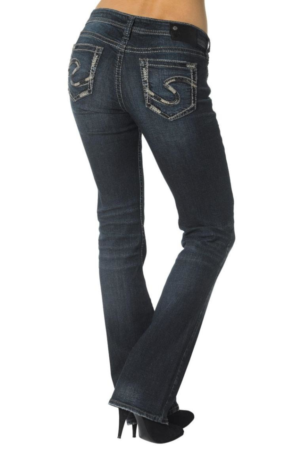 Silver Jeans Co. Aiko Defined-Curve Bootcut - Front Full Image