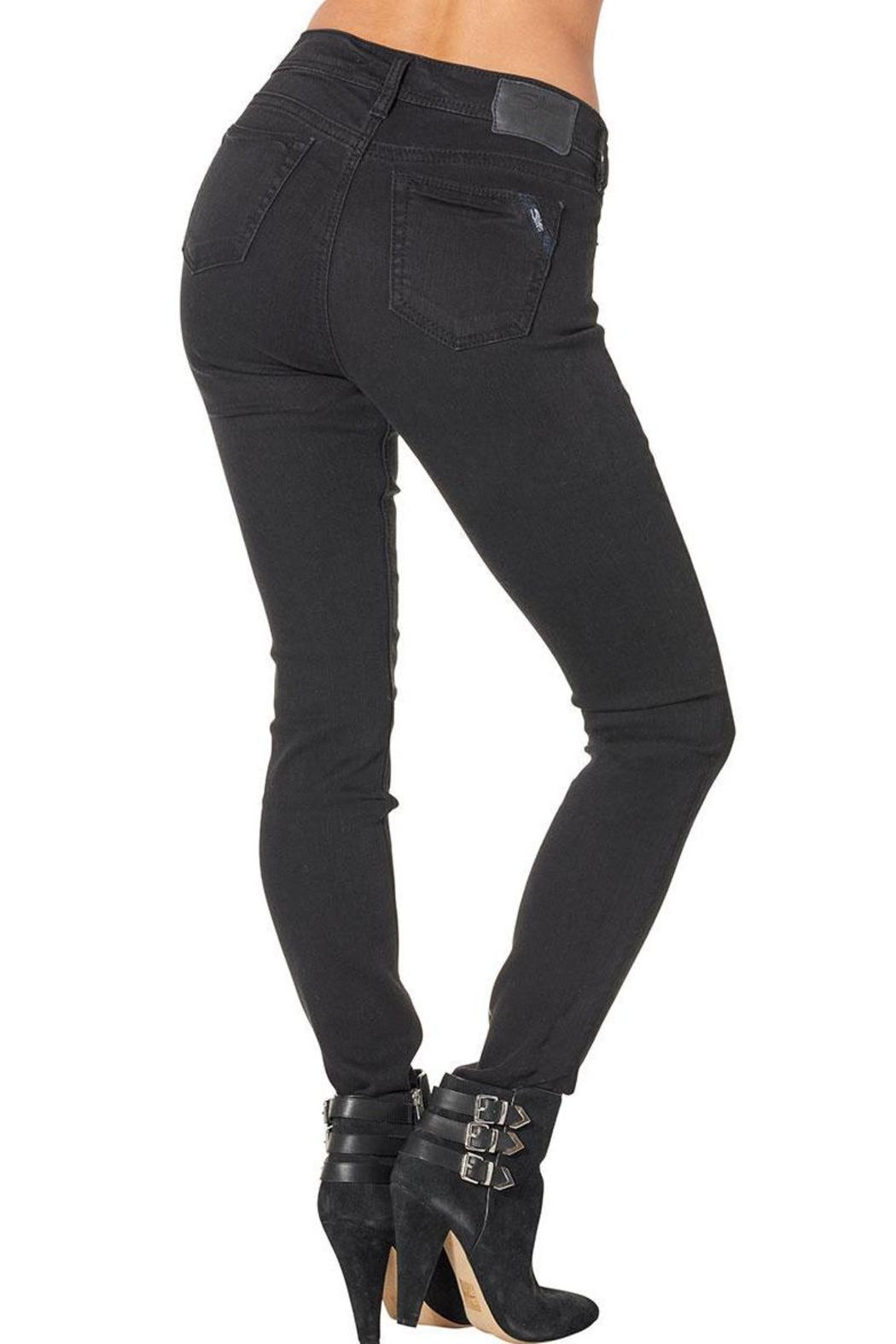 Silver Jeans Co. Aiko Skinny Jeans - Front Full Image