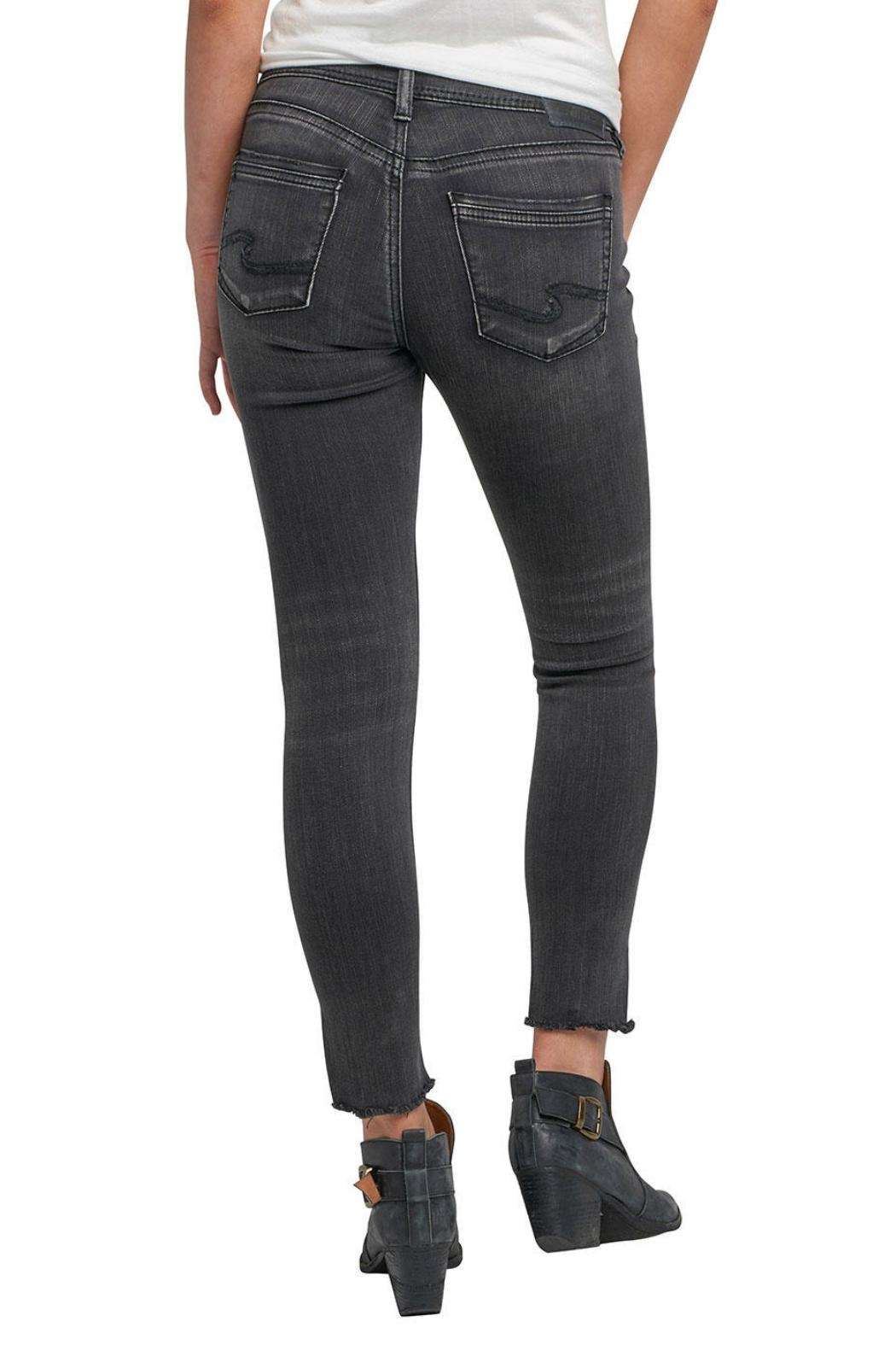 Silver Jeans Co. Avery Ankle Jeans - Front Full Image