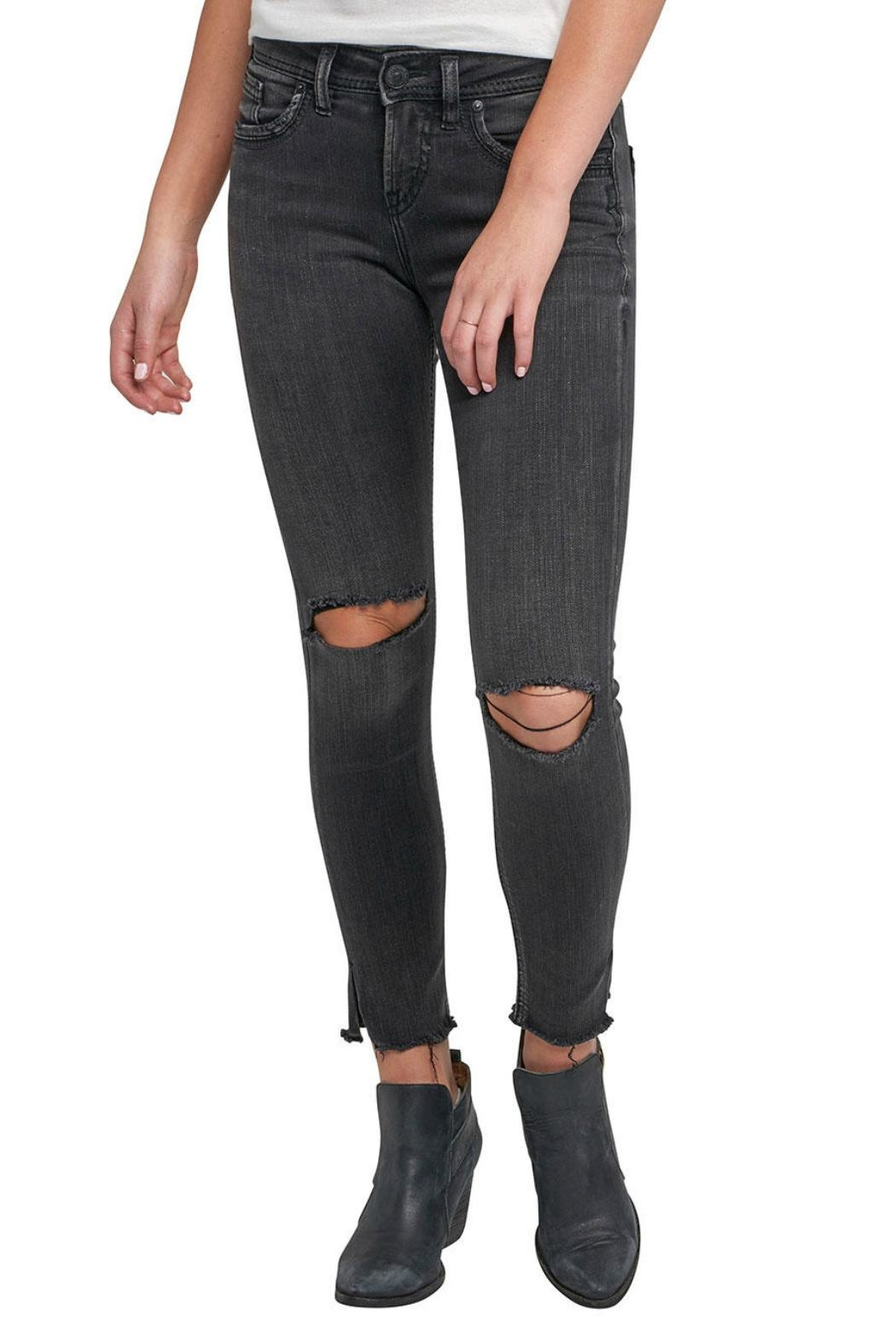 Silver Jeans Co. Avery Ankle Jeans - Main Image