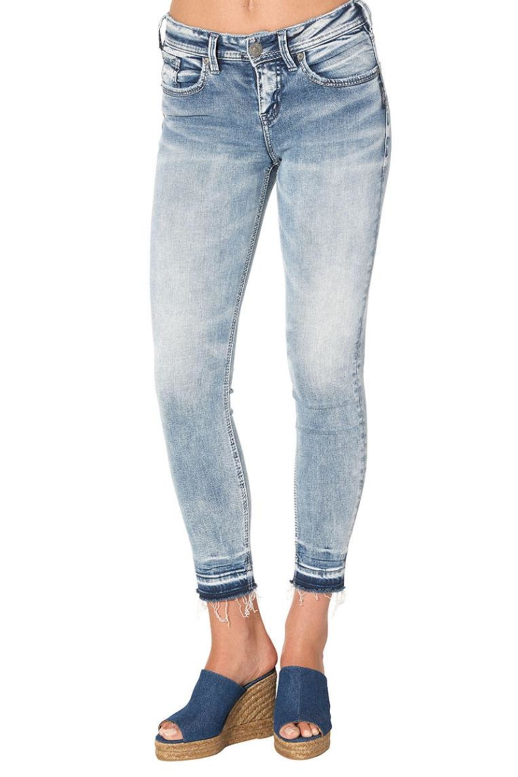 Silver Jeans Co. Avery Ankle Skinny - Main Image