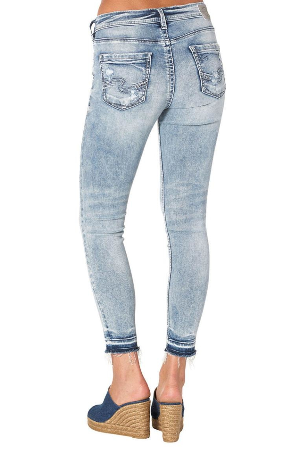 Silver Jeans Co. Avery Ankle Skinny - Front Full Image