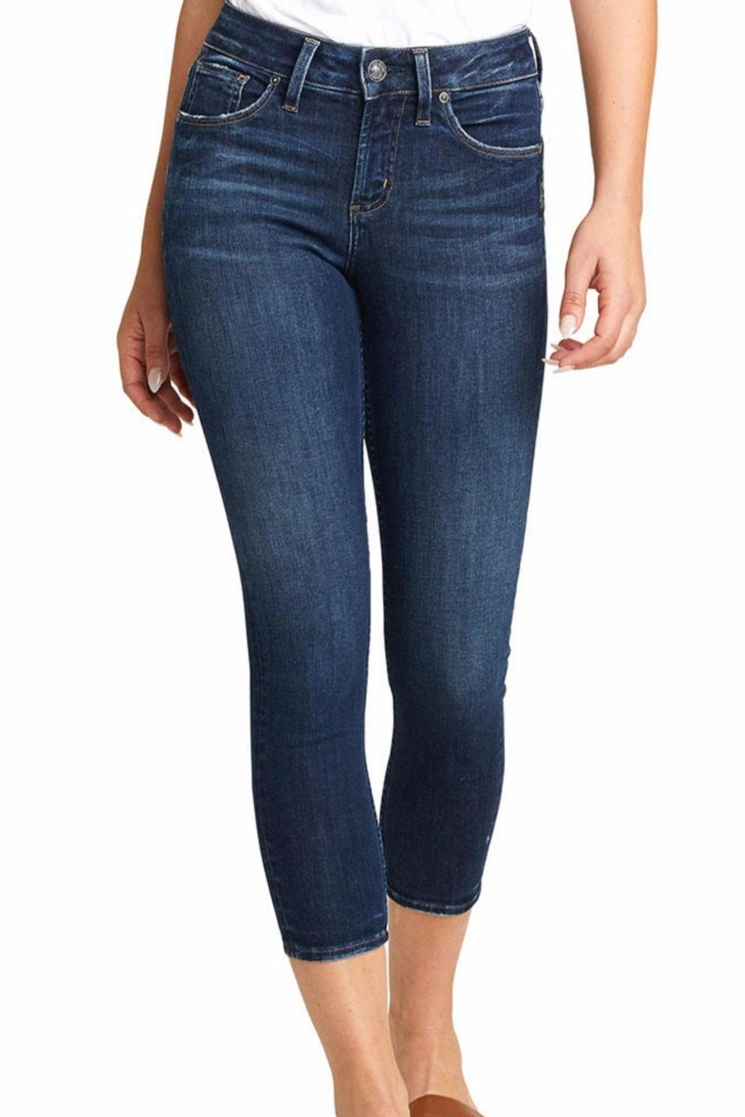 Silver Jeans Co. Avery Skinny Crop - Main Image